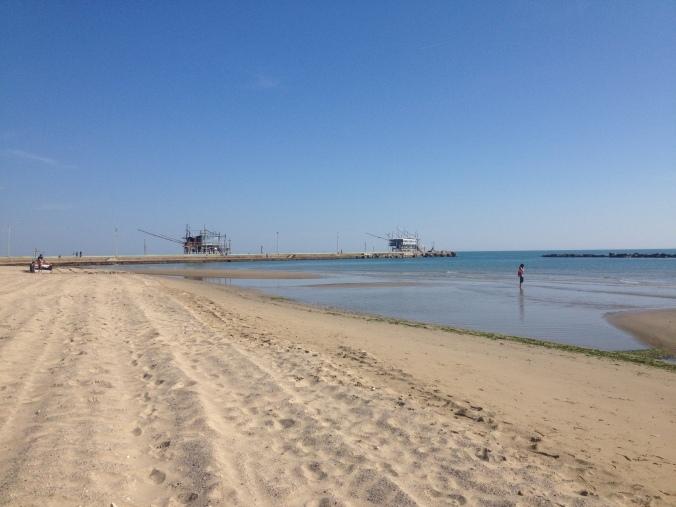 The beach at San Vito